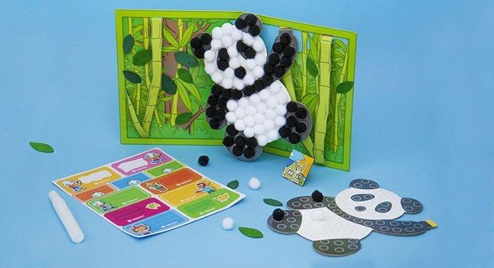 Kit créatif - Les pandas