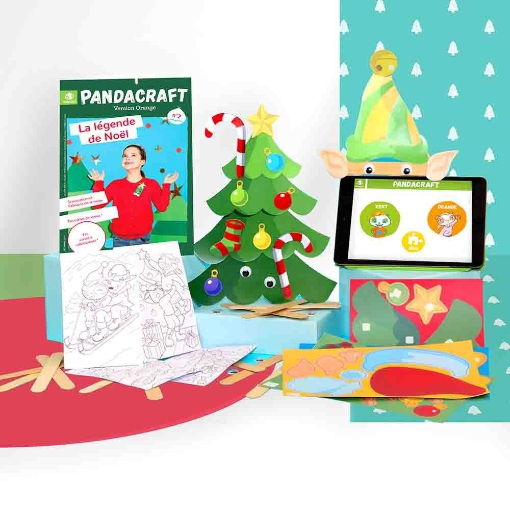 Kit créatif - La légende de Noël - Version Orange
