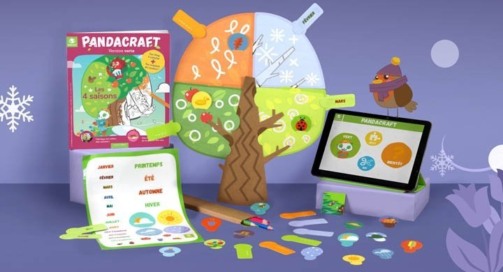 Kit créatif - Le temps - Version verte