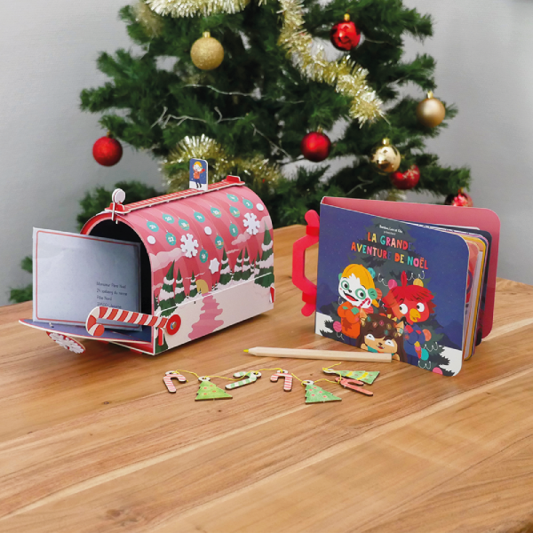 La grande aventure de Noël,BOX ET CALENDRIER DE L'AVeNT