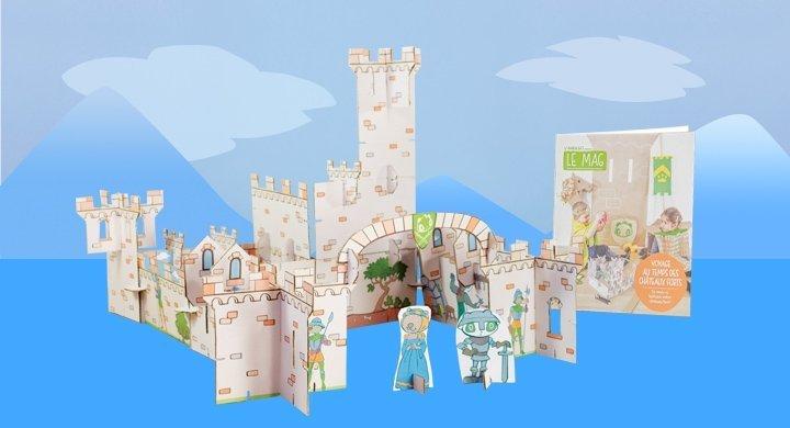 Voyage au temps des châteaux forts