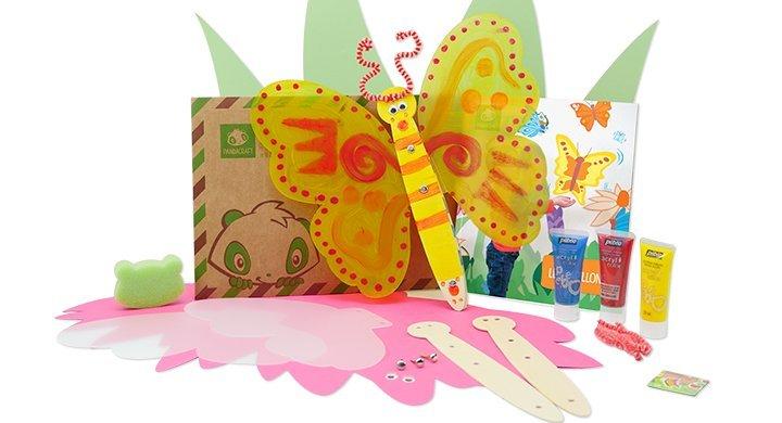 Kit créatif - Les papillons