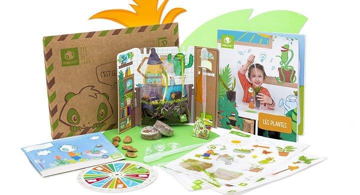 Kit créatif - Les plantes
